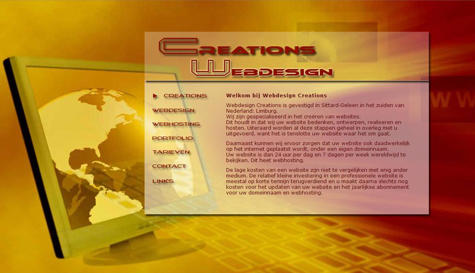 webdesign Creations Sittard Geleen